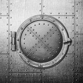 pic of ironclad  - metal safe door illustration - JPG
