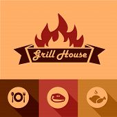 grill house design elements