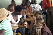 Visit French Schoolboys In Burkina Faso