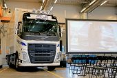 New Volvo FH Truck At Volvo Trucks And Renault Trucks Roadshow