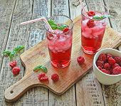 Rasberries drinks