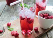 Rasberries juice