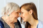 image of granddaughters  - Close - JPG
