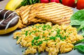 image of chive  - Healthy breakfast  - JPG