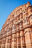 Hawa Mahal palace (Palace of the Winds), Jaipur, Rajasthan