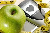 Apple And Sport And Heart Message