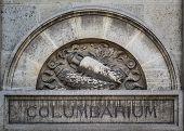 Columbarium In Pere Lachaise Cemetery, Paris