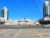 Astana. View On Presidential Palace. Kazakhstan.