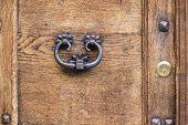 Ancient Rusty Door Handle