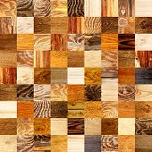 background with wooden patterns of different colors