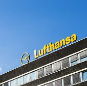 Logo Of The Brand Lufthansa