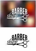 Barber shop sign design