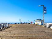 View Of The Pismo Beach Pier