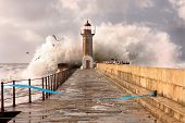 Lighthouse, Foz Do Douro, Portugal