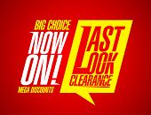 Last look clearance now on.