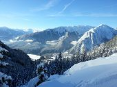 Winter in de Alpen