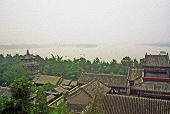 Longevity Hill In Summer Palace, Beijing, China, Oil Painting Stylized Photo