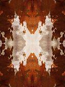Kaleidoscope Cow Hide Pattern