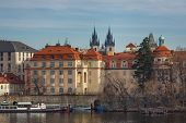 Embankment In Prague