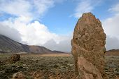 image of naturel  - Rock formation in the National Park del Teide - JPG