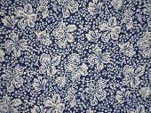 Floral motif cloth