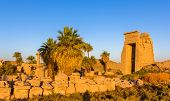 View Of The Eastern Gate In The Karnak Temple - Egypt