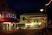 Orlando, Fl, Usa - January 19, 2009: Atlantic Dance Hall Nightclub At Boardwalk Disney  Area On Cres