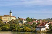 The Castle On The River Neckar,germany