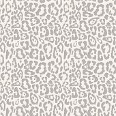 image of leopard  - Leopard seamless pattern design vector illustration background - JPG