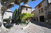 Place Du Vieux-marche, Vaison-la-romaine,vancluse, In Provence, France