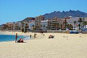 Sandy beach, Garrucha.