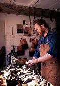 Victorian shoe maker, Dudley.
