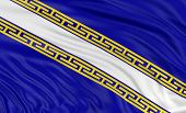 3D Champagne-Ardenne Flag