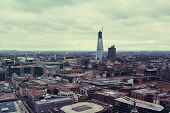 London sity scape in a cloudy day