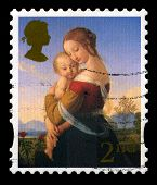 Used British Postage Stamp