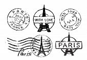 Eiffel Tower stamp