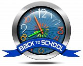 Back To School - Metal Icon