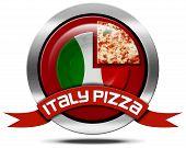 Italy Pizza - Metal Icon