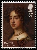 Queen Mary Ii Used British Stamp