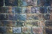 Grungy Stone Wall Texture