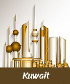 City of Kuwait Famous Buildings