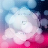 Abstract Colorful Background With Of Blurred Circles