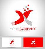 foto of letter x  - Creative Logo Design - JPG