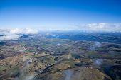 Aerial View of East Coast, Scottland