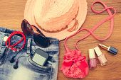 picture of beanie hat  - Summer women - JPG