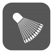 picture of shuttlecock  - The badminton icon - JPG