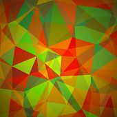 pic of polygon  - Abstract Geometric Polygonal Background - JPG