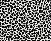 stock photo of snow-leopard  - Seamless pattern of skin of leopard - JPG