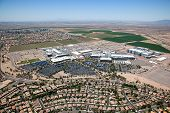 picture of ocotillo  - Giant technology plant and surrounding community in Chandler Arizona - JPG
