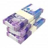 stock photo of computer-generated  - Philippines money isolated on white background - JPG